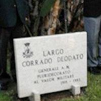 A Siracusa nasce largo Deodato, intitolato al pachinese Corrado Deodato generale di Brigata Aerea