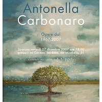 Antonella Carbonaro - Mostra Antologica
