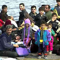Sbarco di immigrati a Portopalo di Capo Passero