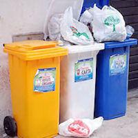 L'assessore Tossani: «Presto la raccolta differenziata sarà estesa pure alla città»