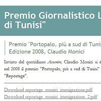 E' on-line il weblog del premio giornalistico