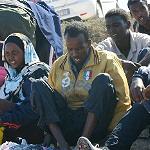 I migranti chiedono l'asilo politico