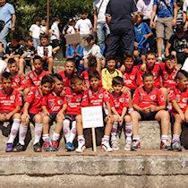 I ragazzi del «Fair Play Uliveto» a Cosenza