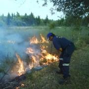 Squadra antincendio a Pachino