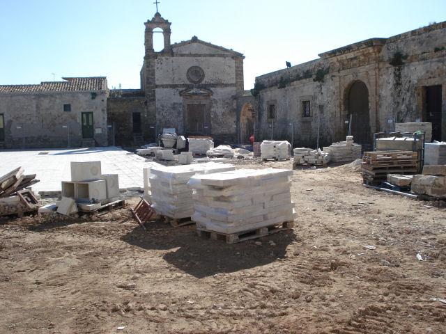 Piazza Regina Margherita - Lavori in Corso