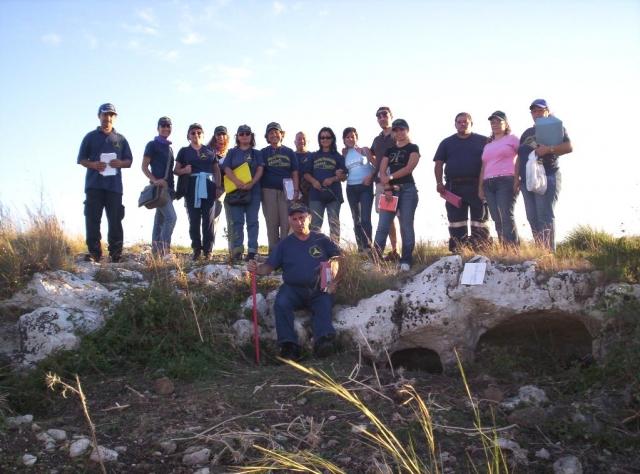 Percorso turistico–archeologico Nella zona Cugni di Pachino