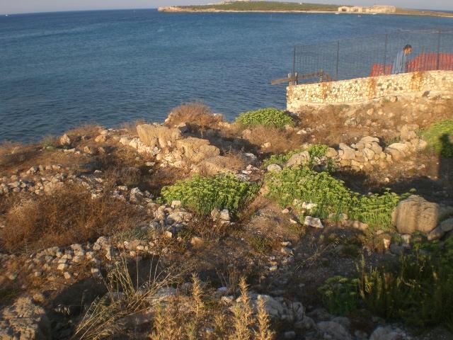 Portopalo Spiaggia Collo le vasche dell'antica Tonnara