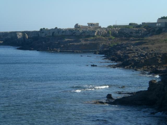 il mare in contrada Canalazzu