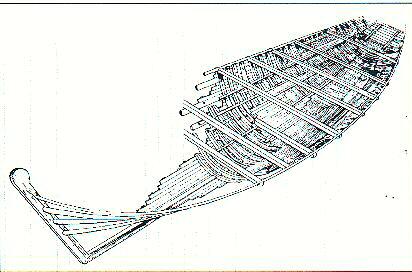 Longarini la nave bizantina ( disegno)