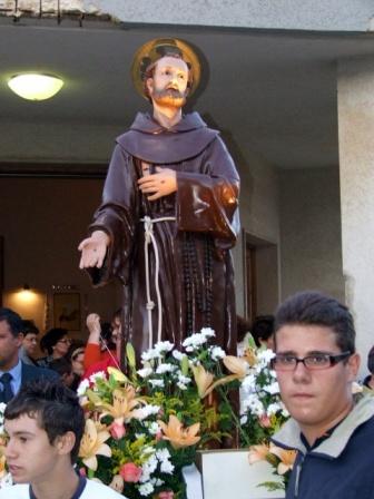 La festa di San Francesco