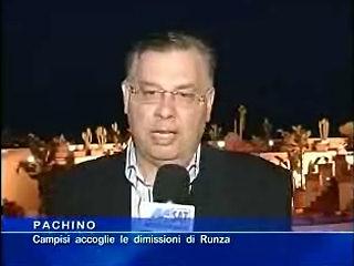 Campisi accoglie le dimissioni di Runza