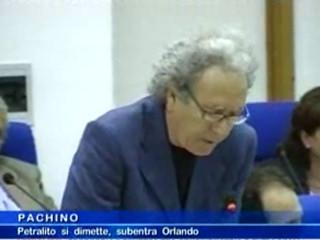 Petralito si dimette, subentra Orlando