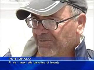Portopalo - Al via i lavori alla banchina di levante