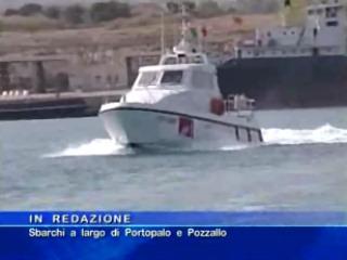 Portopalo - Sbarchi a largo di Portopalo e Pozzallo
