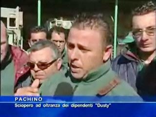 Sciopero ad oltranza dei dipendenti Dusty