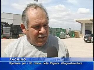 Speranza per i 63 milioni della Regione all'agroalimentare