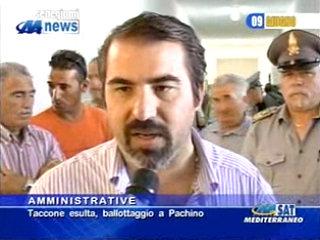 Michele Taccone è il nuovo sindaco di Portopalo