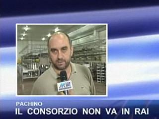 Pachino - Il Consorzio non va in Rai