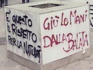 """Manifestazione """"No al pontile"""". Il servizio del TG3"""