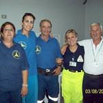 Il gruppo antincendio di Pachino protagonista a Sant'Agata di Militello
