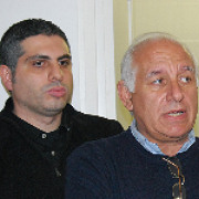 l regista Manuel Giliberti impegnato a Vittoria nella ricerca del casting siciliano del film DONNE DI SICILIA