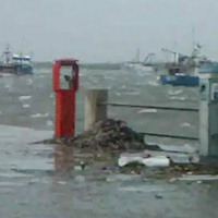 Nel porto peschereccio di Portopalo di Capo Passero lo stato di abbandono è totale.