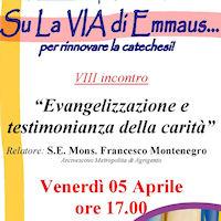 Evangelizzazione e testimonianza della carità