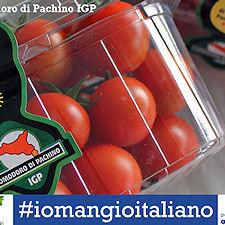 Il pomodoro IGP di Pachino aderisce alla campagna nazionale #iomangioitaliano