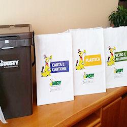 Dal 7 settembre il nuovo kit per la raccolta differenziata.
