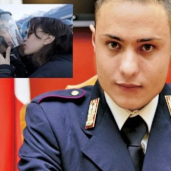 """Encomio solenne per Salvo Piccione, il poliziotto di Pachino """"baciato"""" dalla NoTav"""