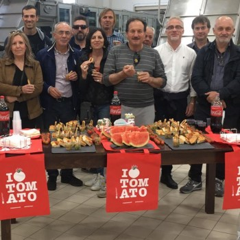 Tutela e valorizzazione sul mercato dei prodotti a marchio Igp. Diciassette produttori di Anguria Reggiana Igp in visita a Pachino