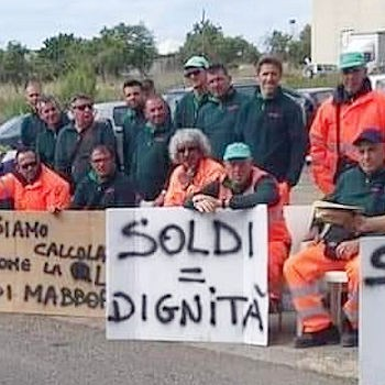 Solidarietà ai dipendenti della Dusty di Pachino