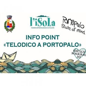 Sabato 22 giugno inaugurazione dell'Info Point Turistico di Portopalo di Capo Passero