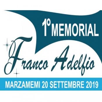 I° Memorial Franco Adelfio. 20 Settembre 2019… Un anno dopo!