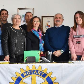 A Portopalo di Capo Passero per il Rotary Day.